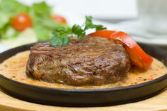 Delicious Meat in a Restaurant Royalty Free Stock Images