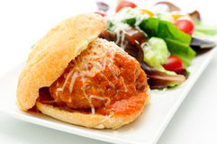 Delicious meatball sliders Royalty Free Stock Photo