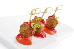 Delicious meatballs. Stock Photography