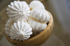 Delicious meringues Royalty Free Stock Photography