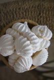Delicious meringues Stock Image