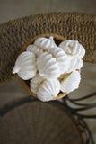 Delicious meringues Stock Photography