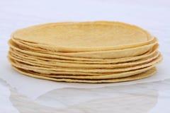 Delicious mexican corn tortillas Stock Photos
