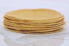 Delicious mexican corn tortillas Stock Photo