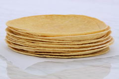 Delicious mexican corn tortillas Royalty Free Stock Photography