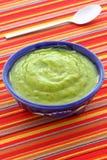 Delicious mexican guacamole dip Royalty Free Stock Photos