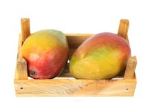 Delicious Mexican mango Royalty Free Stock Photography