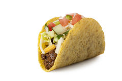 Delicious mexican taco Royalty Free Stock Photo