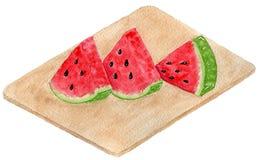 Delicious Mexican watermelon vector illustration