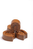 Delicious milk chocolates Royalty Free Stock Image