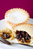 A delicious mince pie Stock Image