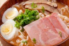 Delicious miso ramen Royalty Free Stock Photography