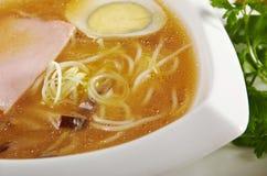 Delicious miso ramen. Stock Photos