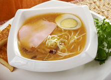 Delicious miso ramen. Stock Images