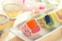 Delicious mooncake Royalty Free Stock Photo