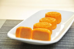 Delicious Mooncakes During Mid Autumn Festival Royalty Free Stock Images