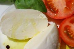 Delicious mozzarella cheese Royalty Free Stock Photos