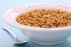 Delicious muesli breakfast Royalty Free Stock Images