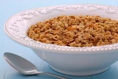 Delicious muesli breakfast Royalty Free Stock Photo