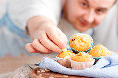 Delicious muffins Royalty Free Stock Photo