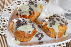Delicious muffins Stock Image