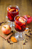 Delicious mulled wine Stock Image