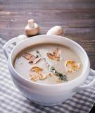 Delicious mushroom soup Royalty Free Stock Photo
