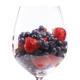 Delicious, natural berries Royalty Free Stock Images