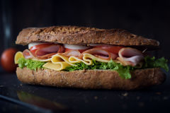 Delicious natural and diet sandwich Stock Photo