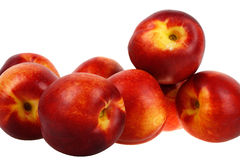 Delicious nectarines Stock Images