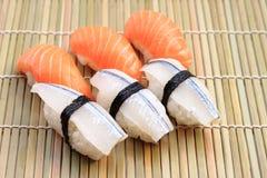 Delicious Nigiri Sushi Royalty Free Stock Image