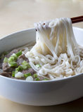 Delicious noodle soup Royalty Free Stock Images