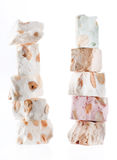 Delicious nougat Royalty Free Stock Images