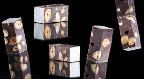 Delicious nougat Royalty Free Stock Photography