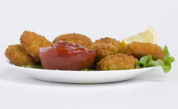 Delicious Nuggets stock photography