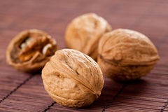 Delicious nut snack Stock Photography