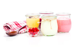 Delicious, nutritious and healthy yogurt Royalty Free Stock Image