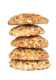 Delicious oatmeal cookies Royalty Free Stock Photo