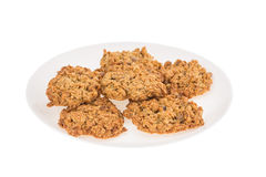 Delicious oatmeal cookies. Royalty Free Stock Photos