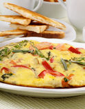 Delicious Omelet Stock Photos