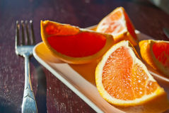 Delicious orange Stock Photo