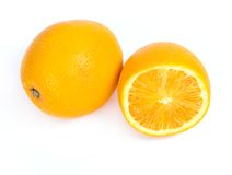 Delicious orange Stock Images
