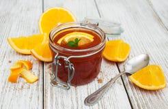 Delicious orange jam Royalty Free Stock Image