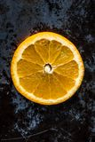 Delicious Orange Slice royalty free stock image