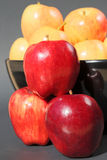 Delicious organic apples Royalty Free Stock Images