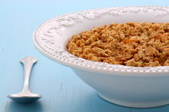 Delicious organic chunky granola cereal Royalty Free Stock Photo