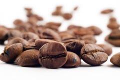 Delicious organic coffee beans Stock Photos