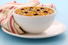 Delicious organic muesli cereal Stock Photos