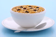 Delicious organic muesli cereal Royalty Free Stock Image