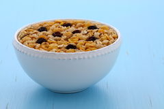 Delicious organic muesli cereal Stock Images